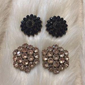 Jewelry - ✨ Set of two classy statement earrings